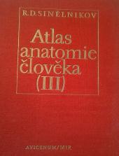 Atlas anatomie člověka III. obálka knihy