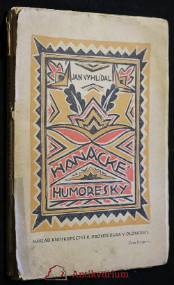 Hanácké humoresky obálka knihy