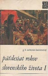 Päťdesiat rokov slovenského života I obálka knihy