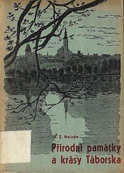 Přírodní památky a krásy Táborska obálka knihy