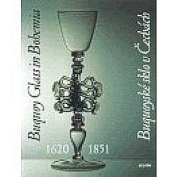 Buquoyské sklo v Čechách 1620-1851 obálka knihy