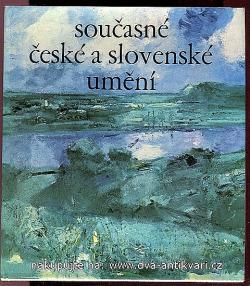 Současné české a slovenské umění obálka knihy