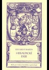 Heraldické eseje obálka knihy