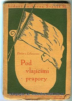 Pod vlajícími prapory obálka knihy