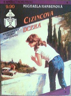 Cizincova dcera obálka knihy