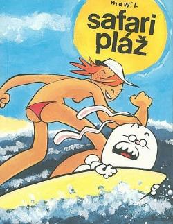 Safari pláž obálka knihy