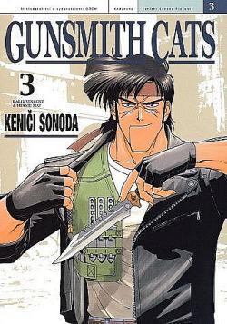 Gunsmith Cats 3 obálka knihy