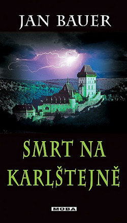 Smrt na Karlštejně obálka knihy