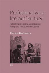 Profesionalizace literární kultury obálka knihy
