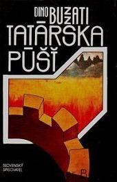 Tatárska púšť obálka knihy