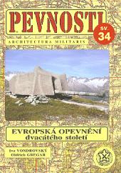 Evropská opevnění 20. století obálka knihy
