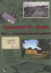 Opevnění IV. sboru - 2.část obálka knihy