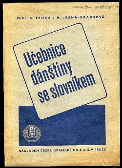 Učebnice dánštiny se slovníkem obálka knihy