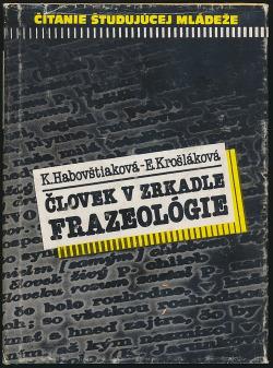 Človek v zrkadle frazeológie obálka knihy
