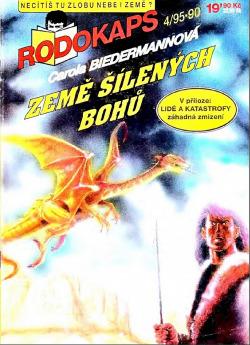 Země šílených bohů obálka knihy