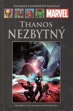 Thanos Nezbytný obálka knihy