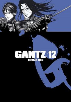 Gantz 12 obálka knihy