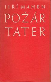 Požár Tater obálka knihy