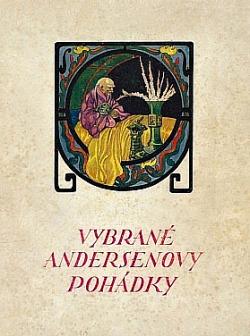 Vybrané Andersenovy pohádky obálka knihy