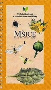 Mšice: Malý atlas do ruky, 1. díl obálka knihy