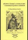 Dějiny české literatury v statistických grafech a tabulkách 1 - Od počátků k baroku