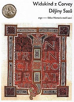 Dějiny Sasů obálka knihy