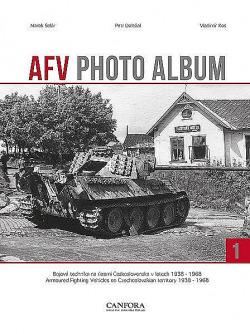 AFV photo album 1 obálka knihy