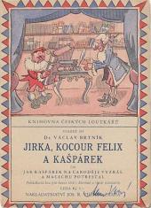 Jirka, kocour Felix a Kašpárek obálka knihy