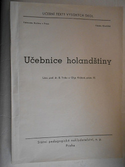 Učebnice holandštiny obálka knihy
