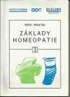 Základy homeopatie 3