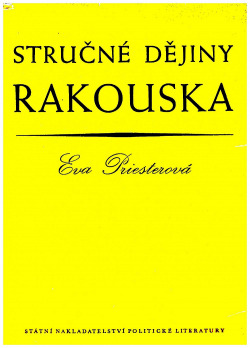 Stručné dějiny Rakouska obálka knihy