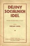 Dějiny sociálních ideí