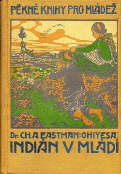 Indián v mládí obálka knihy
