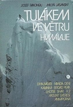 Tulákem ve větru Himálaje obálka knihy