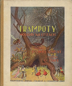 Trampoty mouchy na cestách obálka knihy