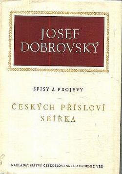 Českých přísloví sbírka obálka knihy