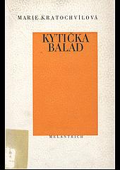 Kytička balad obálka knihy