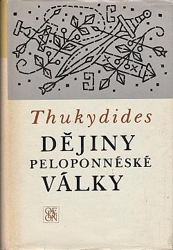 Dějiny peloponéské války obálka knihy