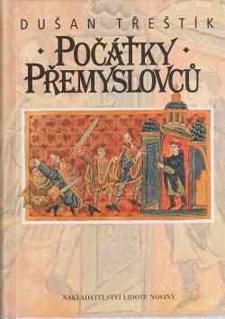 Počátky Přemyslovců. Vstup Čechů do dějin (530 - 935) obálka knihy