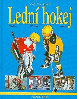 Lední hokej obálka knihy