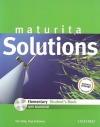 Solutions maturita: elementary: student's book