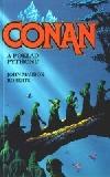 Conan a poklad Pythonu obálka knihy