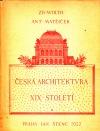 Česká architektura XIX. století