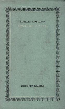 Revoluční dramata obálka knihy