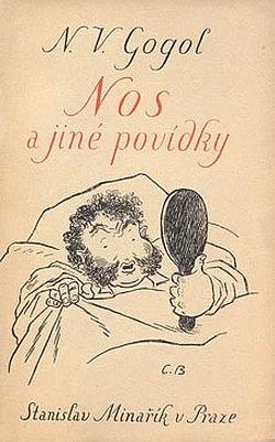 Nos a jiné povídky obálka knihy