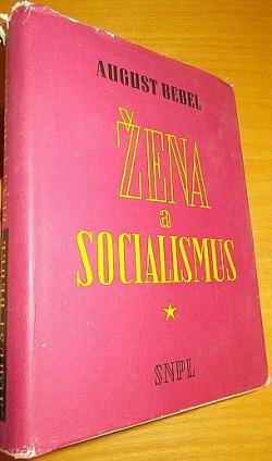 Žena a socialismus obálka knihy