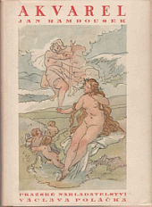 Akvarel obálka knihy