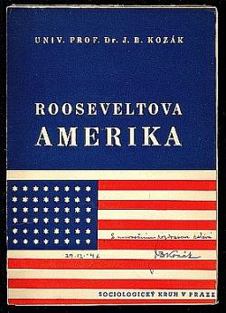 Rooseveltova Amerika obálka knihy
