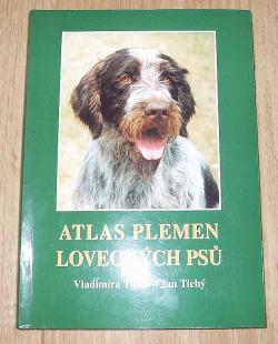 Atlas plemen loveckých psů obálka knihy