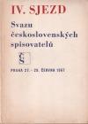 IV. sjezd Svazu československých spisovatelů